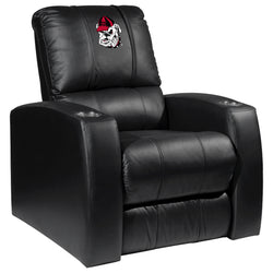 Relax Recliner with Georgia Pinstripe Bulldog Head Logo Panel