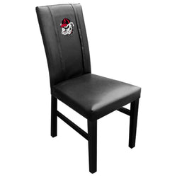 Side Chair 2000 with Georgia Pinstripe Bulldog Head Logo Panel