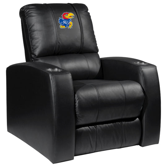 Relax Recliner with Kansas Jayhawks Logo Panel
