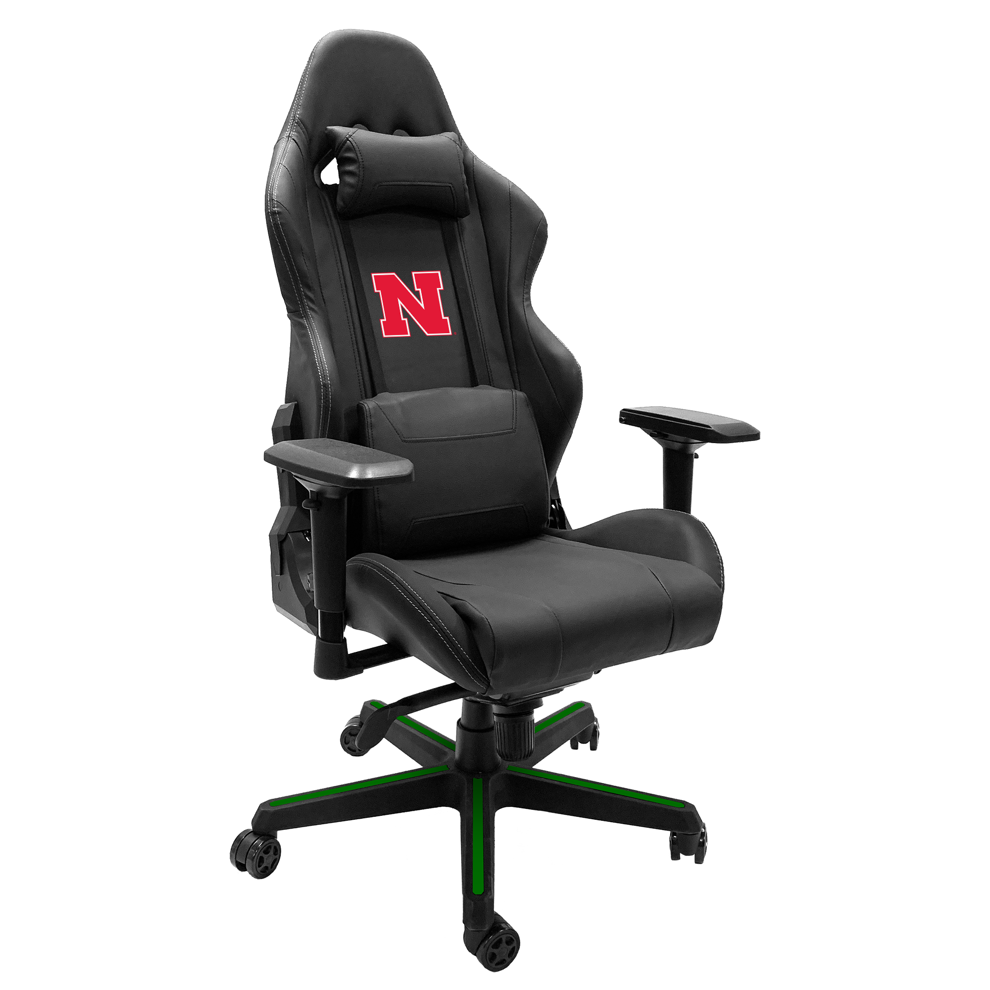 Xpression Gaming Chair with Nebraska Cornhuskers Primary