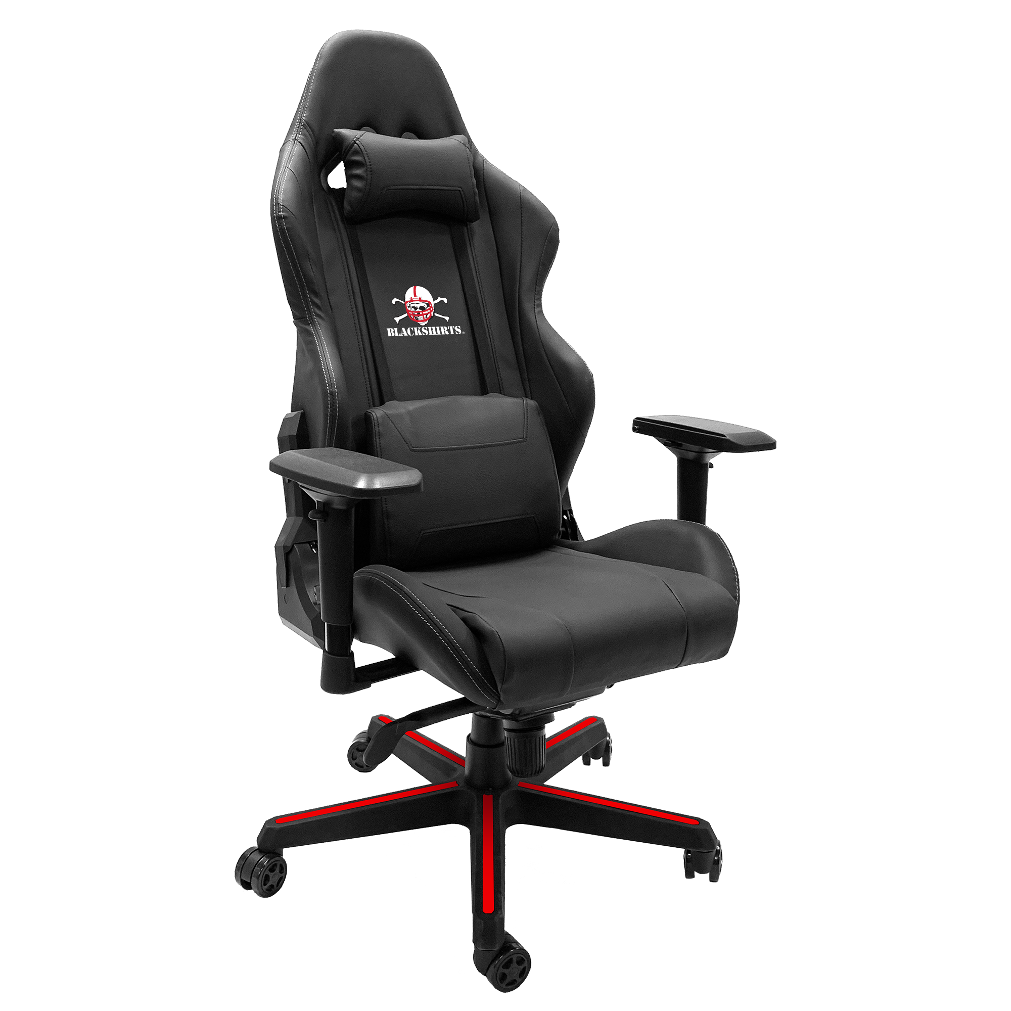 Xpression Gaming Chair with Nebraska Cornhuskers Secondary