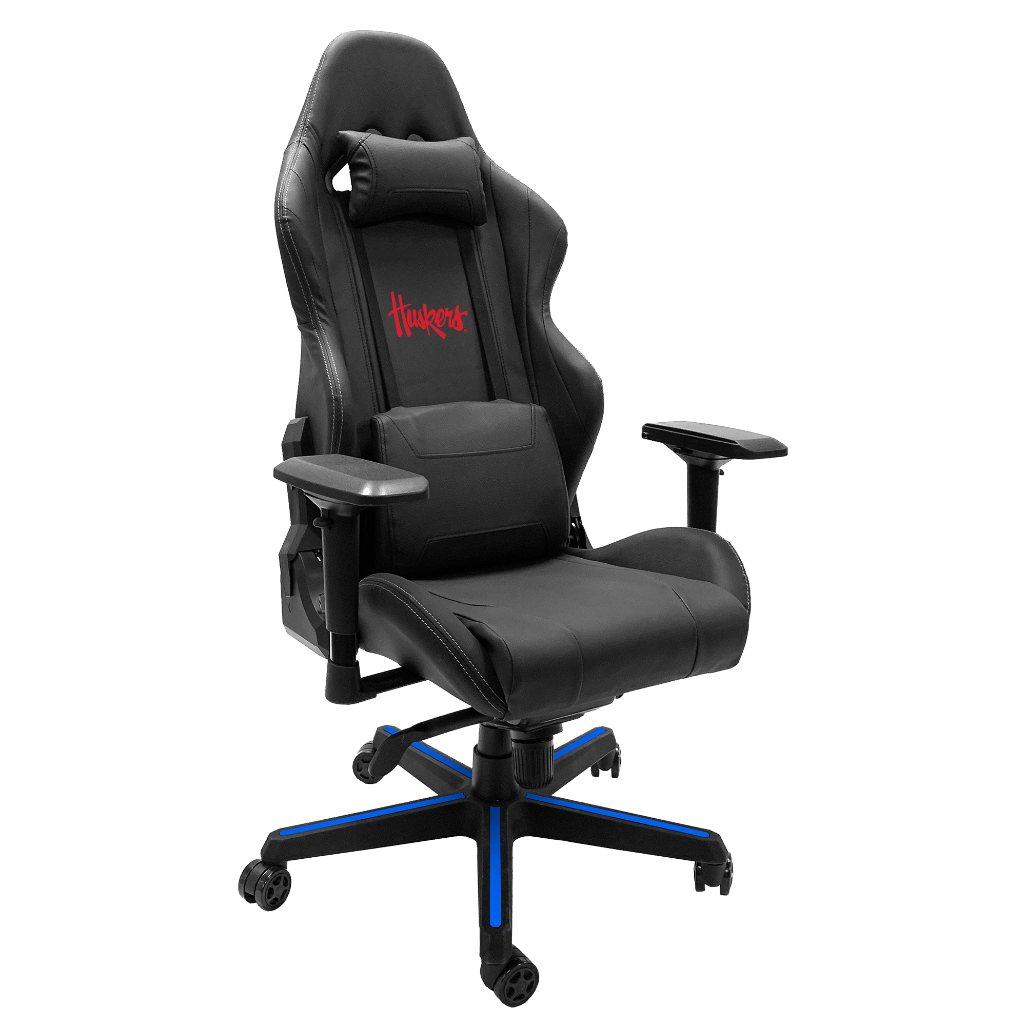 Xpression Gaming Chair with Nebraska Cornhuskers Alternate