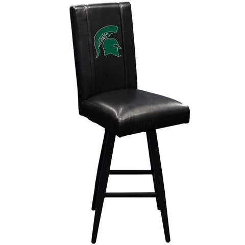 Swivel Bar Stool 2000 with Michigan State Spartans Logo