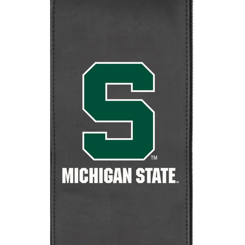 Michigan State Secondary Logo Panel