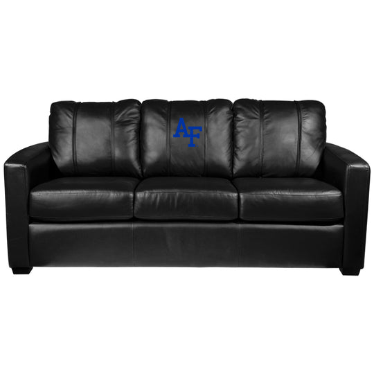 Silver Sofa with Air Force Falcons Logo
