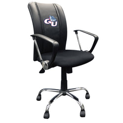 Curve Task Chair with Gonzaga Bulldogs Logo