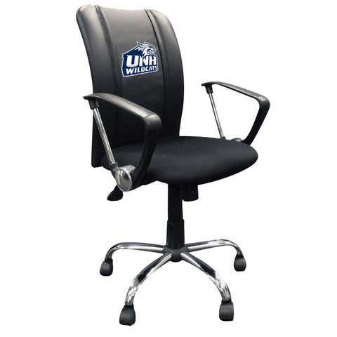Curve Task Chair with New Hampshire Wildcats Logo