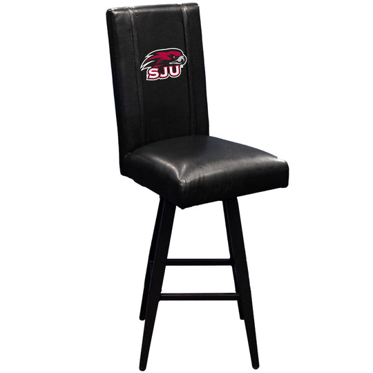Swivel Bar Stool 2000 with St Josephs Hawks Logo