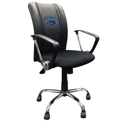 Curve Task Chair with Nevada Wolfpack Logo
