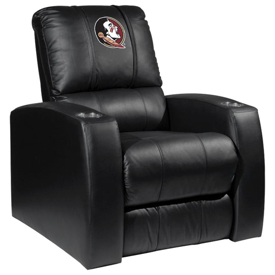 Relax Recliner with Florida State Seminoles Logo Panel