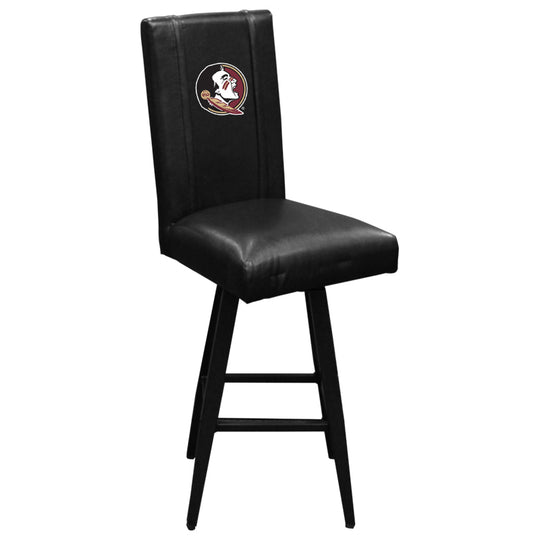 Swivel Bar Stool 2000 with Florida State Seminoles Logo Panel