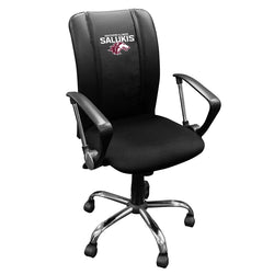Curve Task Chair with Southern Illinois Salukis Logo