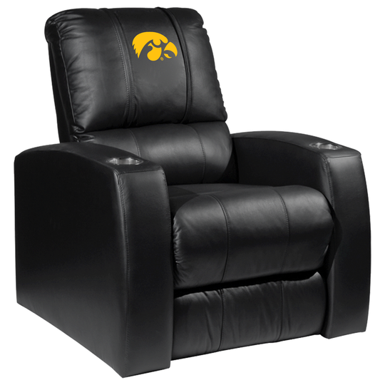 Relax Recliner with Iowa Hawkeyes Logo