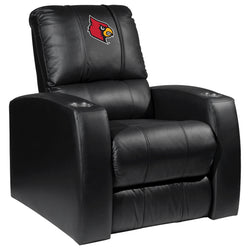 Relax Recliner with Louisville Cardinals Logo