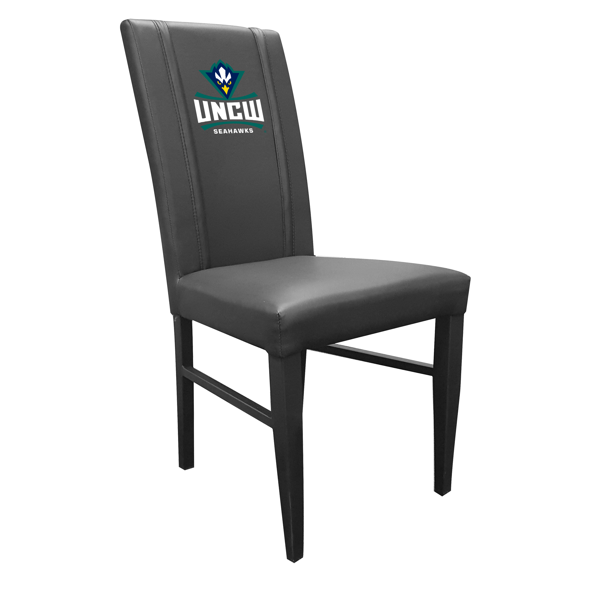 Side Chair 2000 with UNC Wilmington Primary Logo Set of 2