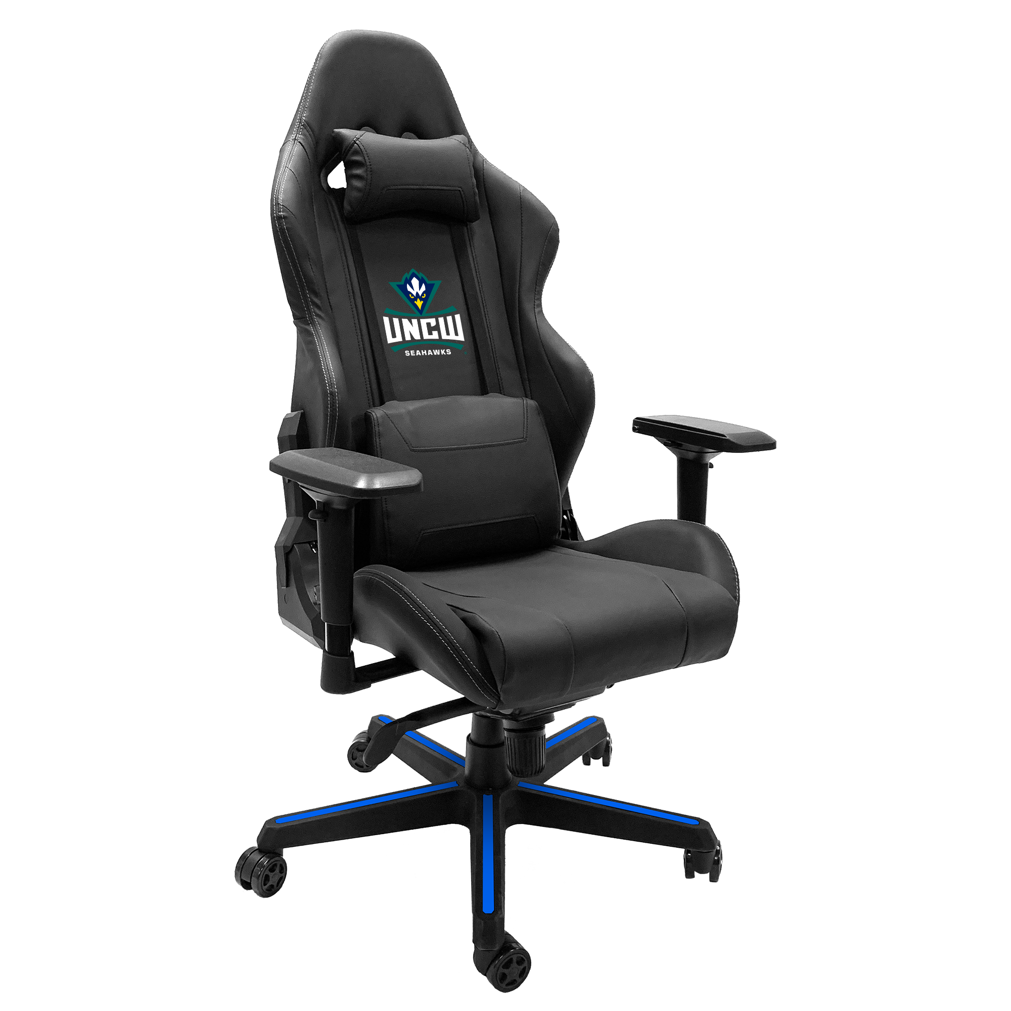 Xpression Gaming Chair with UNC Wilmington Primary Logo