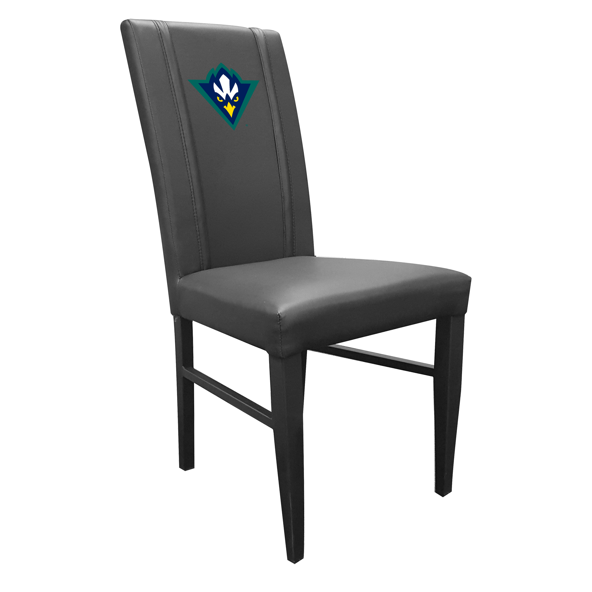 Side Chair 2000 with UNC Wilmington Secondary Logo Set of 2