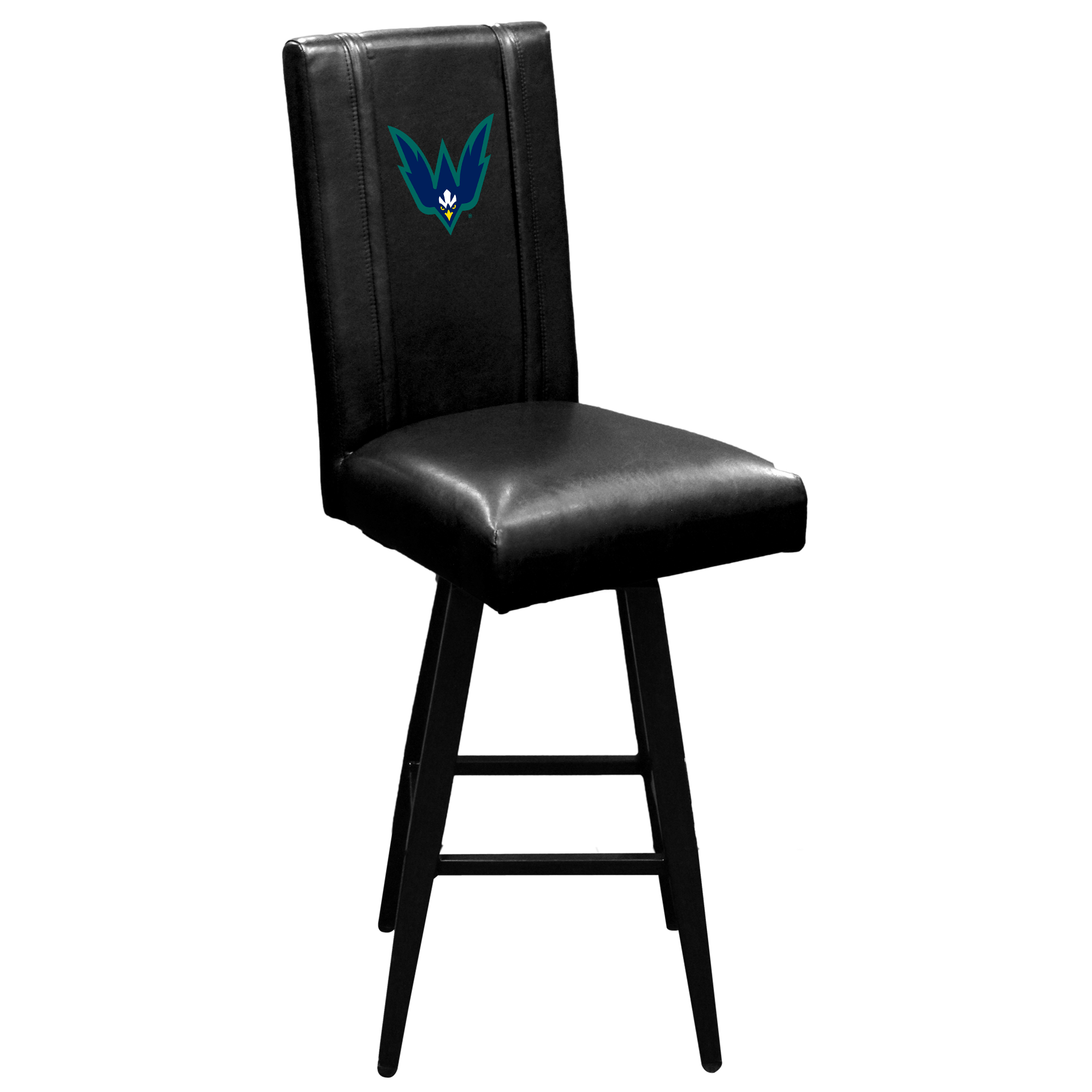Swivel Bar Stool 2000 with UNC Wilmington Logo