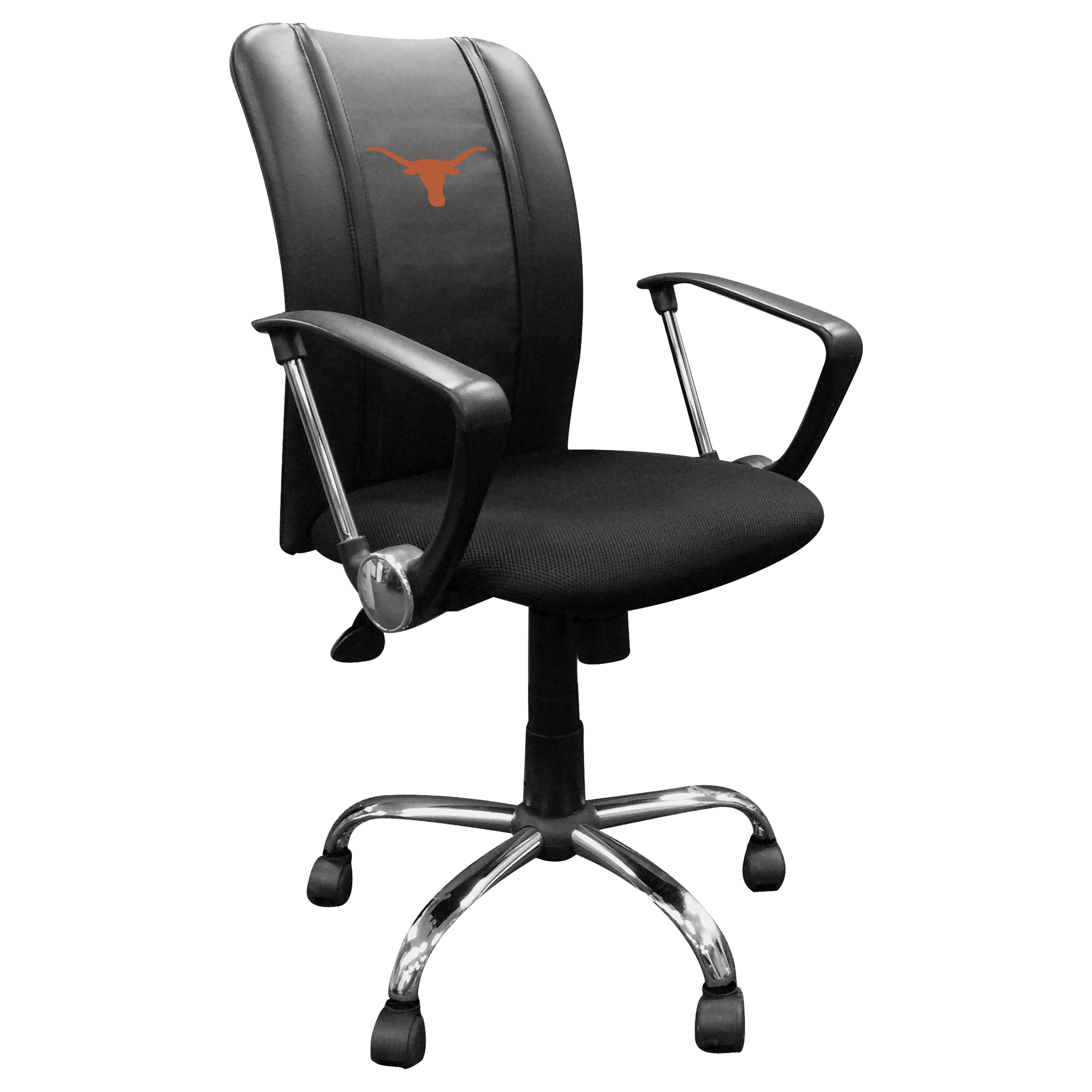 Curve Task Chair with Texas Longhorns Primary