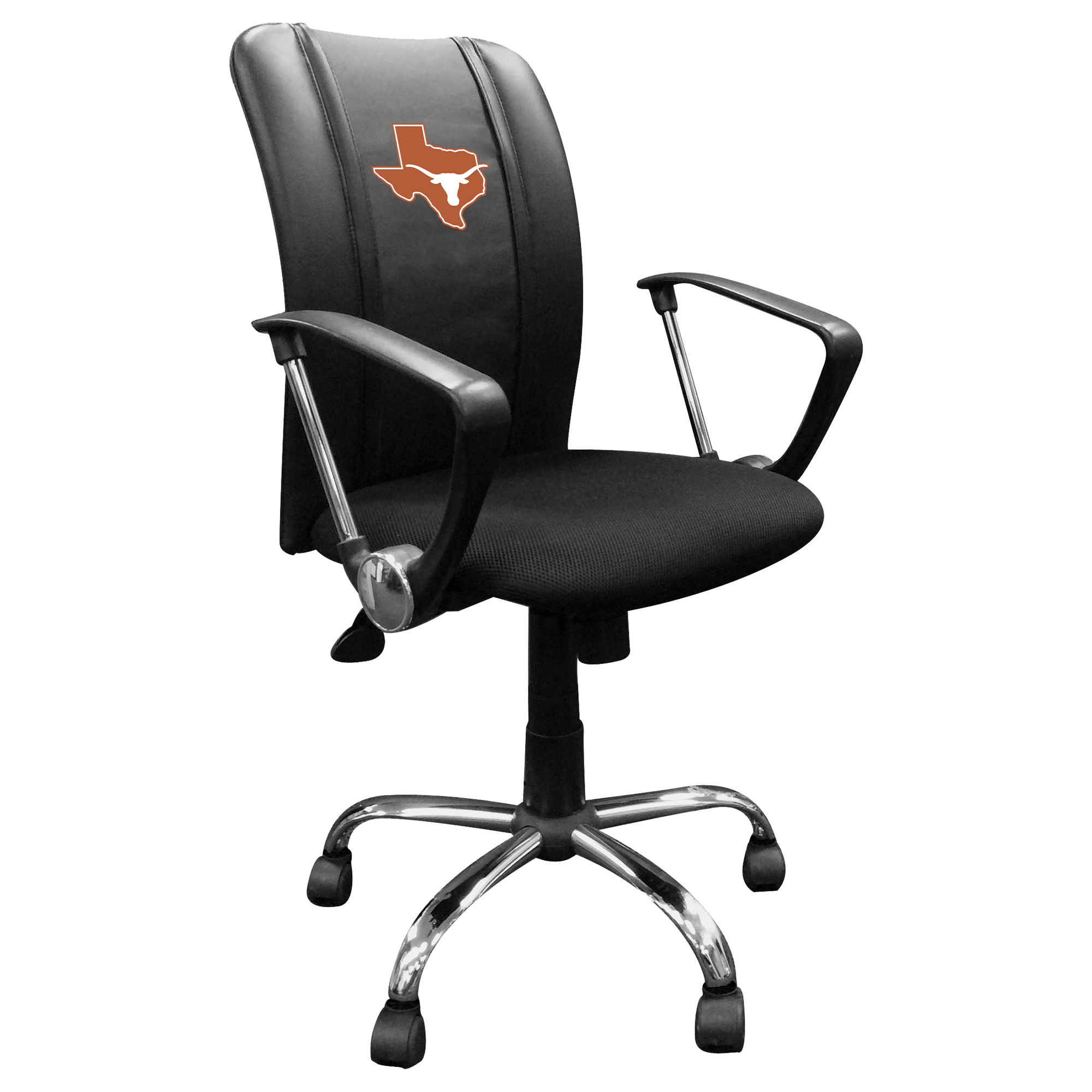 Curve Task Chair with Texas Longhorns Secondary