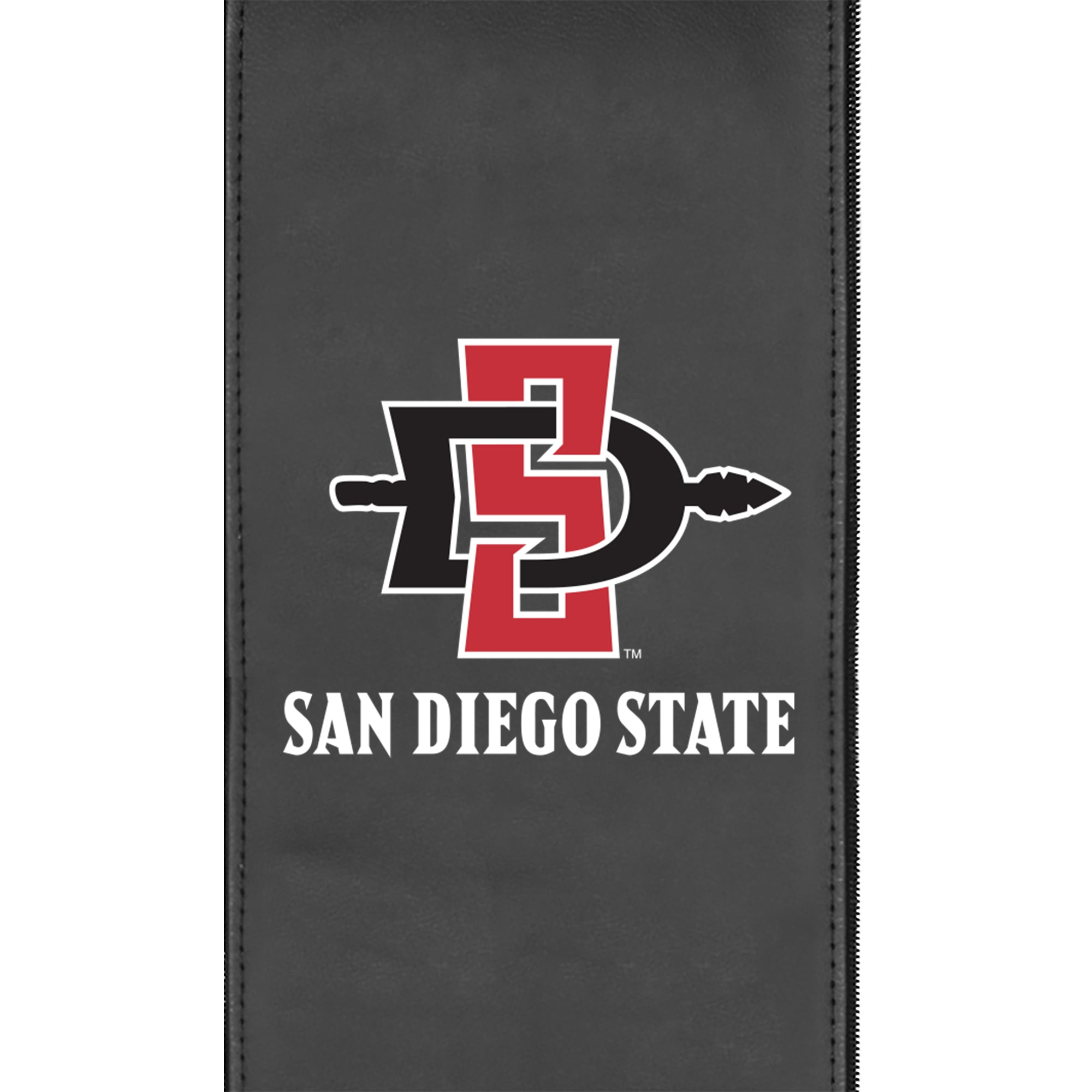 Silver Club Chair with San Diego State Primary