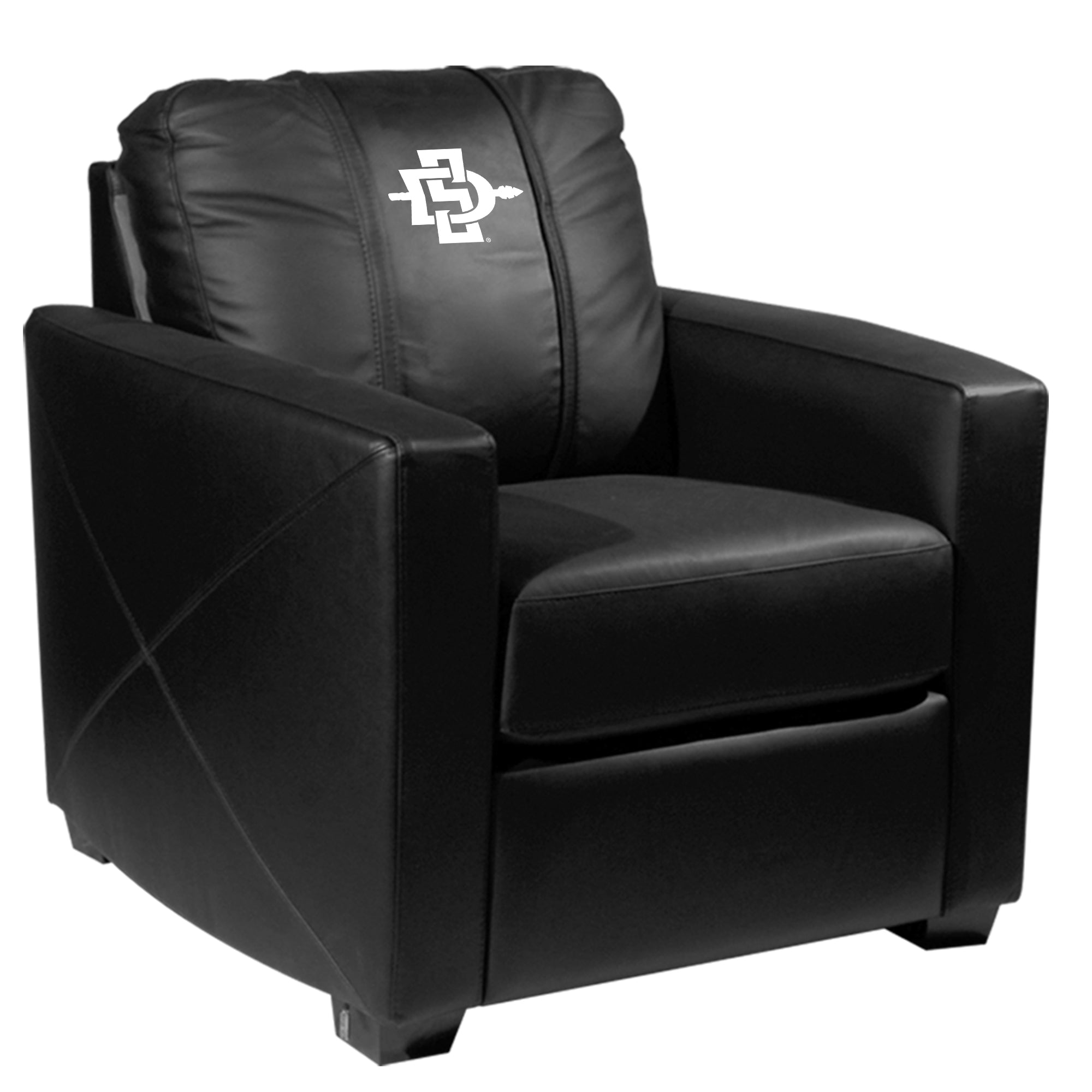 Silver Club Chair with San Diego State Alternate
