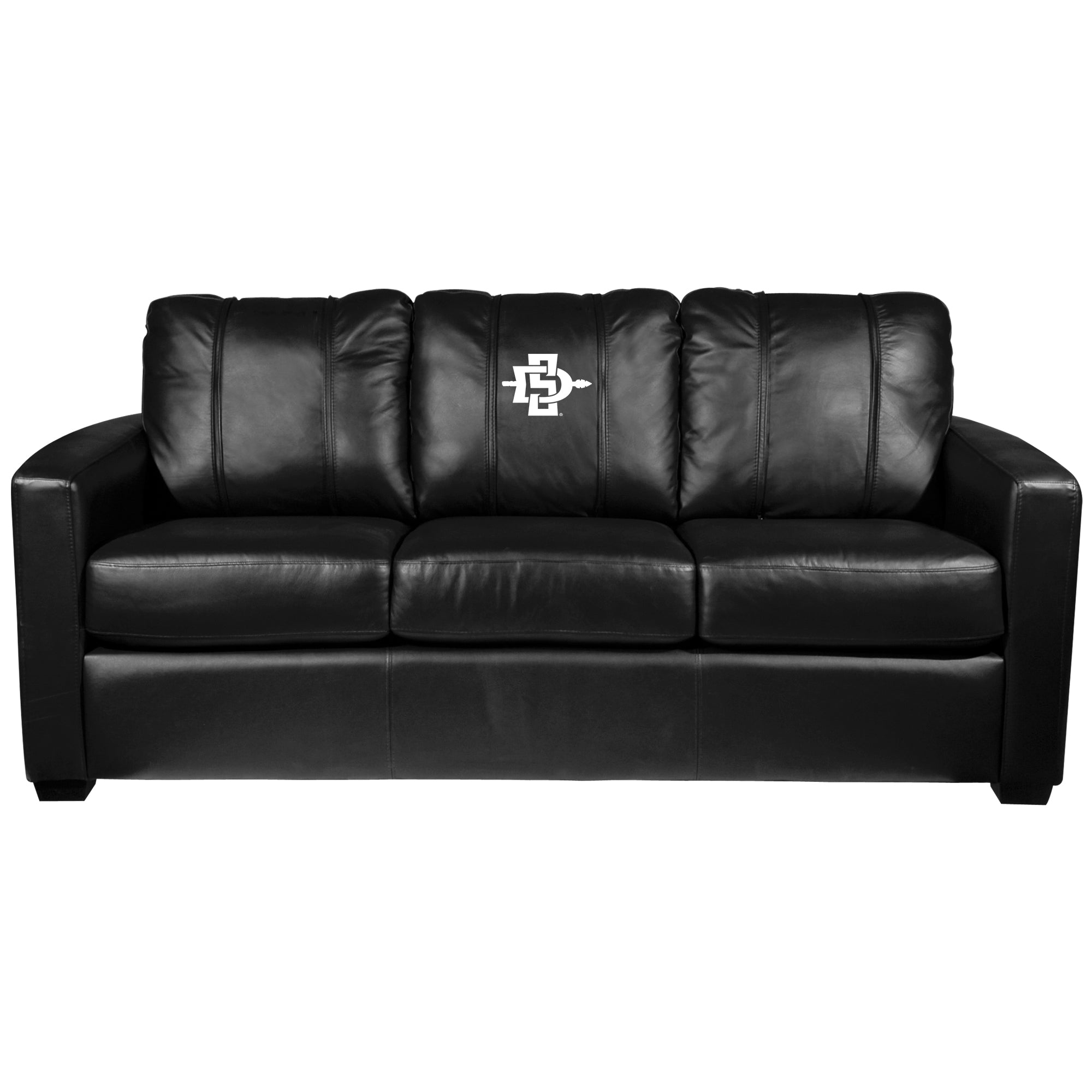 Silver Sofa with San Diego State Alternate