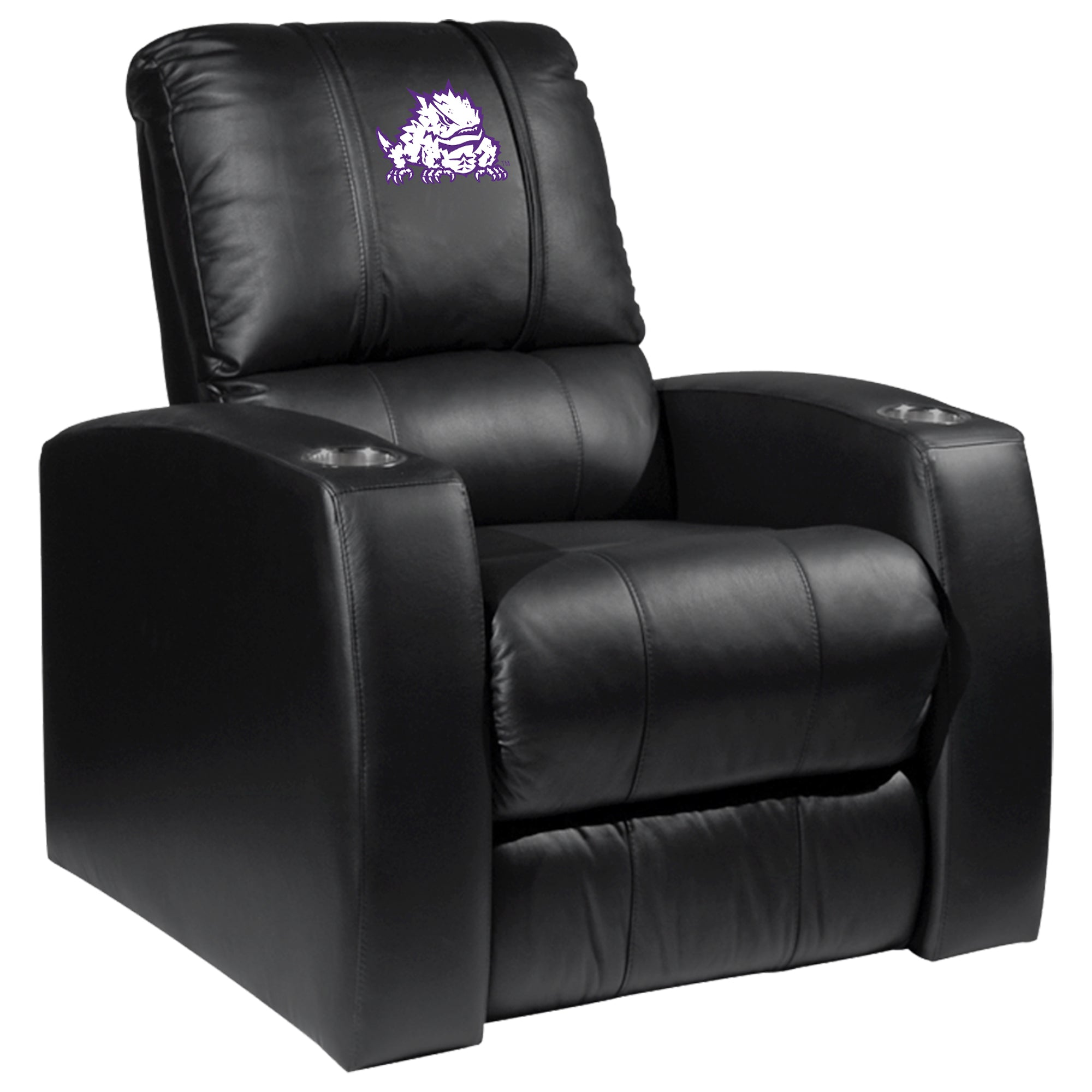 Relax Recliner with TCU Horned Frogs Secondary