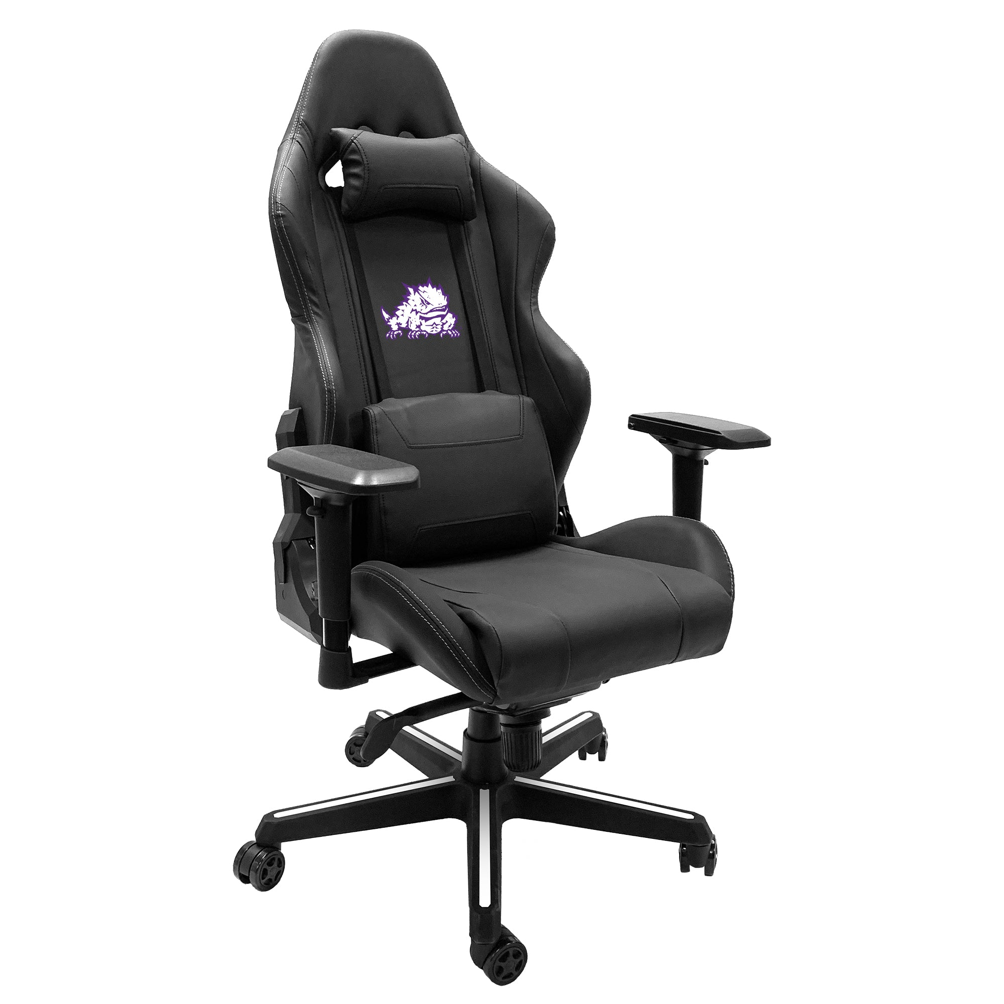 Xpression Gaming Chair with TCU Horned Frogs Secondary
