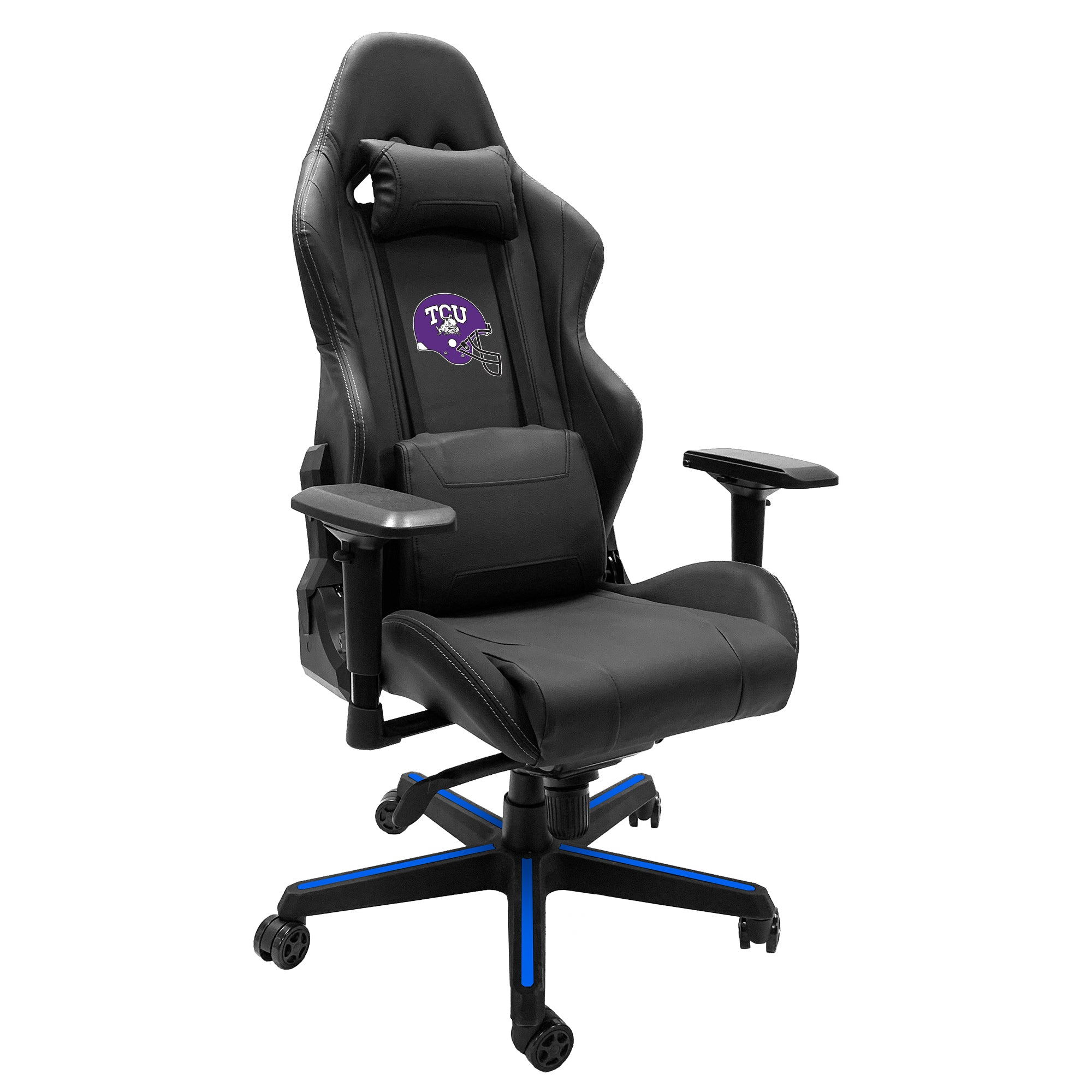 Xpression Gaming Chair with TCU Horned Frogs Alternate