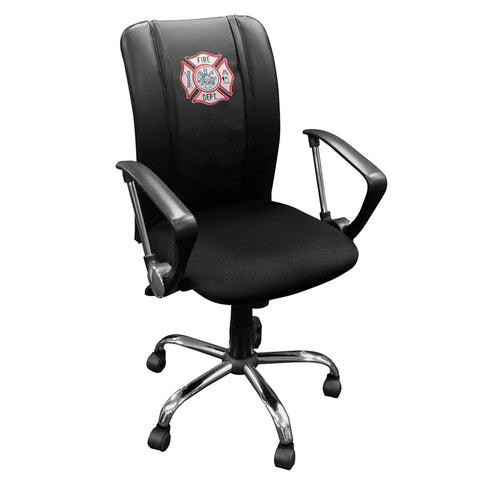Curve Task Chair with Maltese Cross Logo Panel