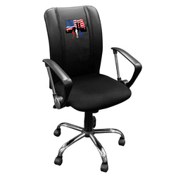 Curve Task Chair with 9/11 Responders Logo Panel