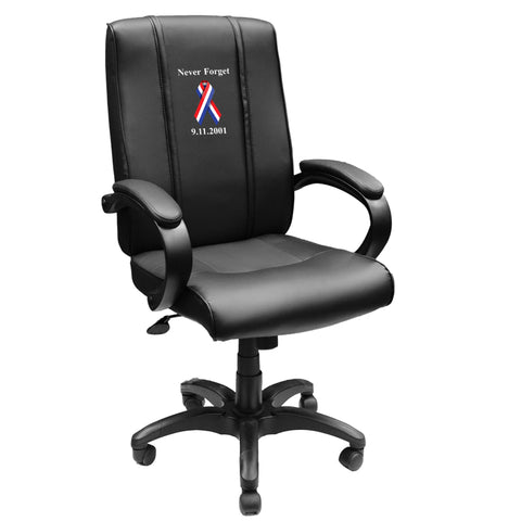 Office Chair 1000 with 9/11 Never Forget Logo Panel