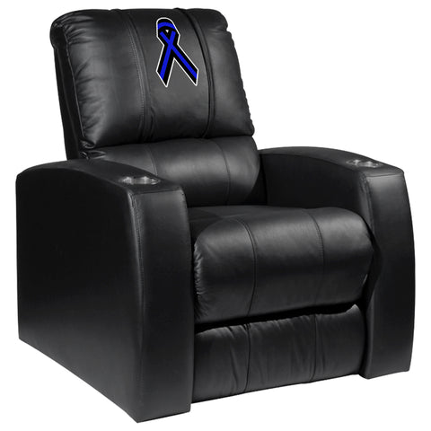 Relax Recliner with Blue Ribbon Logo Panel