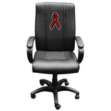 Office Chair 1000 with Red Ribbon Logo Panel