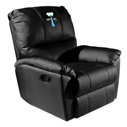 Rocker Recliner with Father's Day Tie Logo Panel