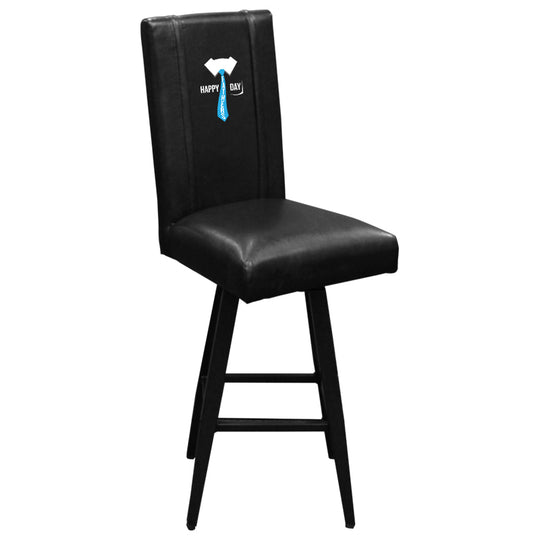 Swivel Bar Stool 2000 with Father's Day Tie Logo Panel