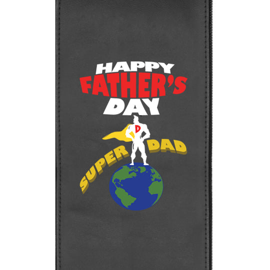 Father's Day Super Dad Logo Panel