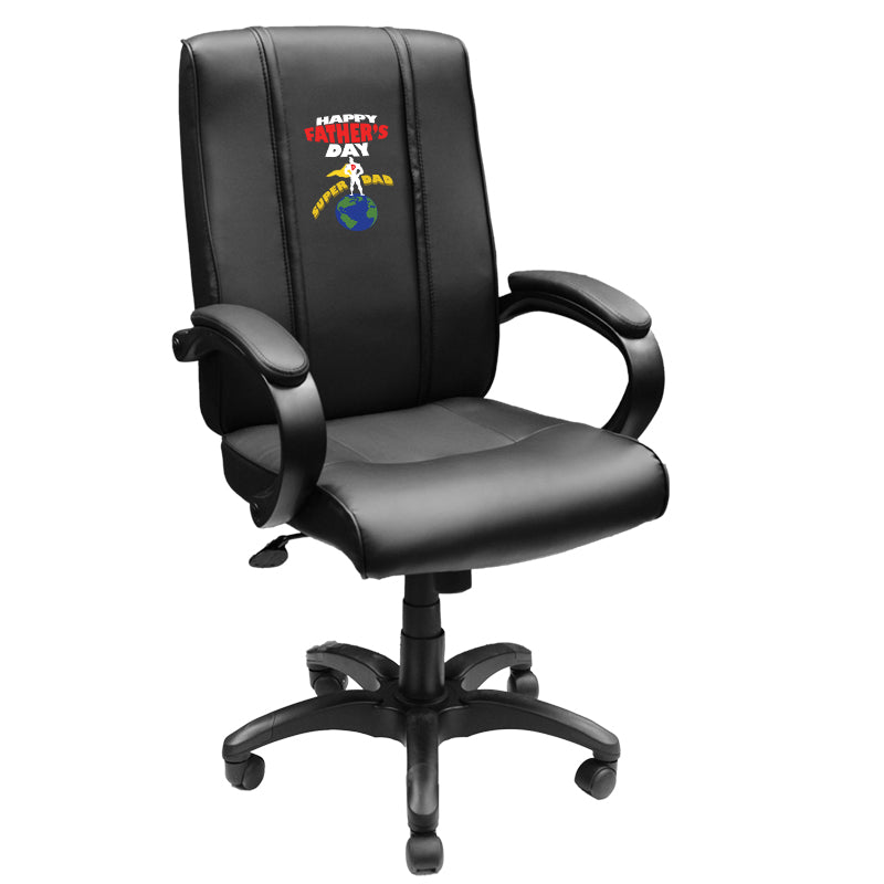 Office Chair 1000 with Father's Day Super Dad Logo Panel