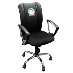 Curve Task Chair with Snowman Globe Logo Panel