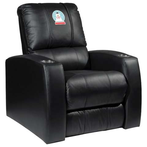 Relax Recliner with Snowman Globe Logo Panel