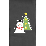 Snowman and Tree Logo Panel