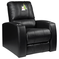 Relax Recliner with Snowman and Tree Logo Panel
