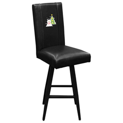 Swivel Bar Stool 2000 with Snowman and Tree Logo Panel