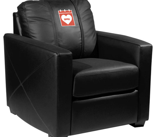Silver Club Chair with 2019 Mothers Day Logo