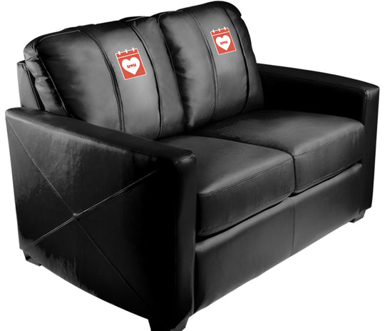 Silver Loveseat with 2019 Mothers Day Logo