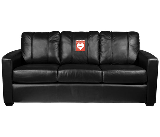 Silver Sofa with 2019 Mothers Day Logo