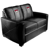 Silver Loveseat with Arizona Diamondbacks Logo