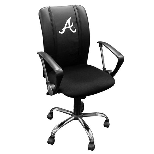Curve Task Chair with Atlanta Braves Secondary
