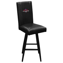 Swivel Bar Stool 2000 with Boston Red Sox 2018 Champions Logo Panel